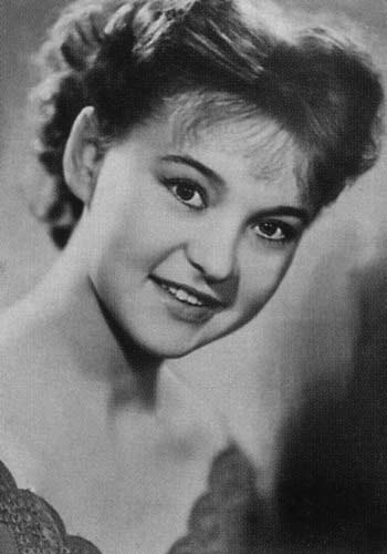Людмила Гурченко - Фото 1958 года.