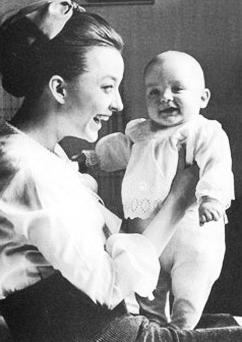 Анастасия Вертинская - Анастасия Вертинская с сыном