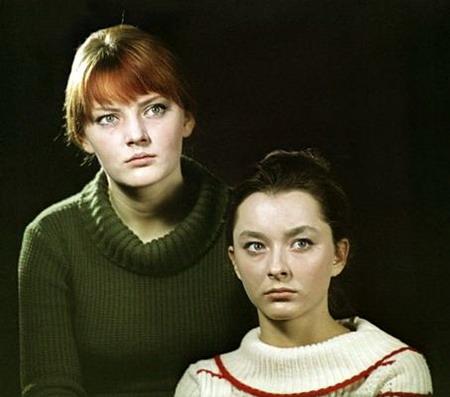 Марианна Вертинская - с сестрой Анастасией