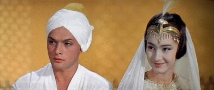Додо Чоговадзе - фильмография - Волшебная лампа Аладдина (1966 ...