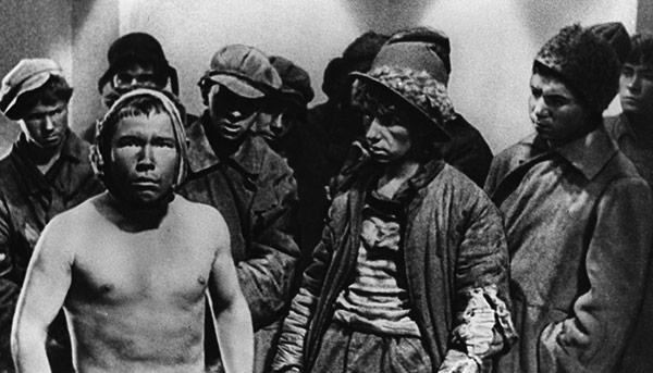 Путевка в жизнь. СССР, 1931. Режиссер Николай Экк
