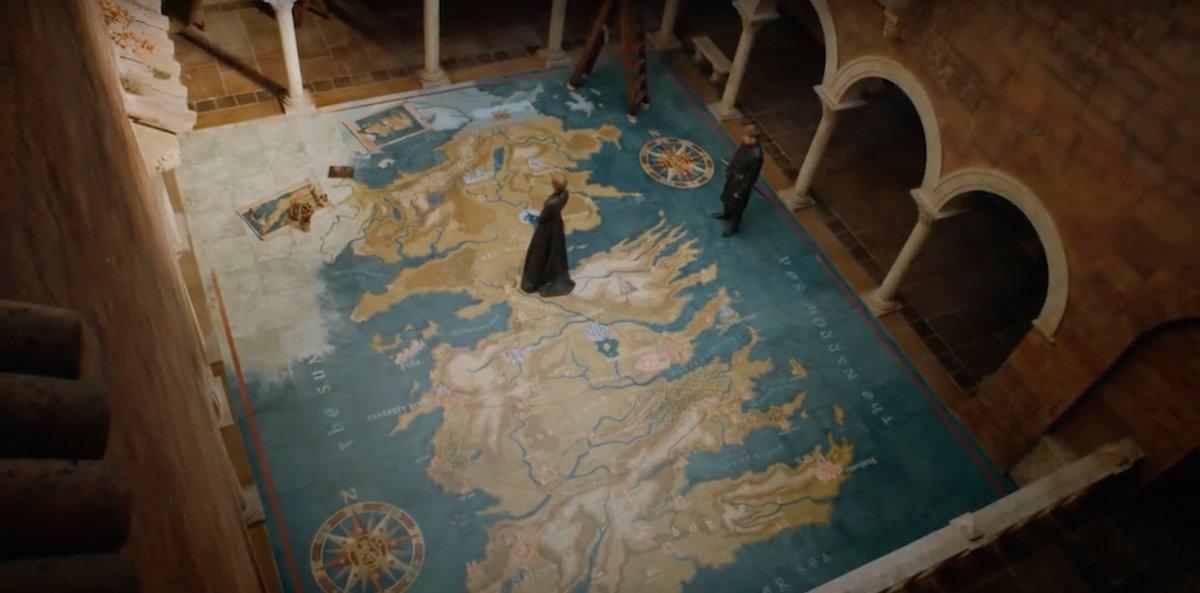 «Игра престолов»-7. Драконий камень, ножницы, бумага