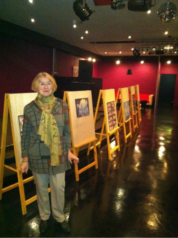 Анна Львовна Атаманова на показе Снежной королевы