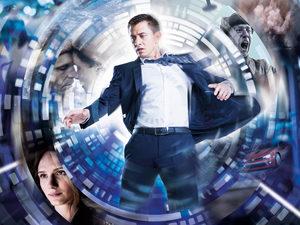 Гость из будущего: Павел Прилучный на постере «Рубежа»