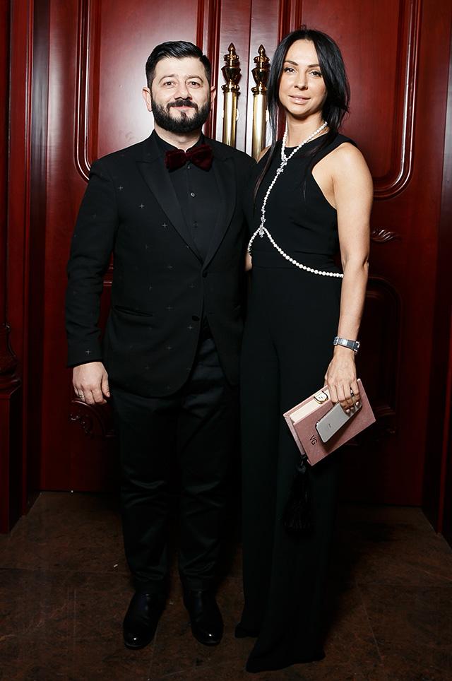 Михаил Галустян с супругой