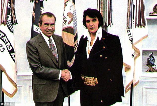 Никсон и Пресли