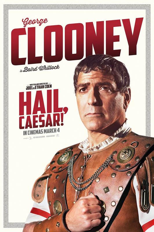 Подборка постеров к фильму «Да здравствует Цезарь!»