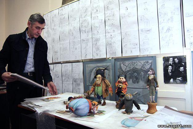 Станислав Соколов работает над фильмом Гофманиада