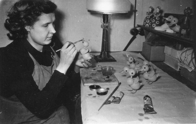 Мастерские по изготовлению кукол (студия Союзмультфильм, 1950-е гг.)
