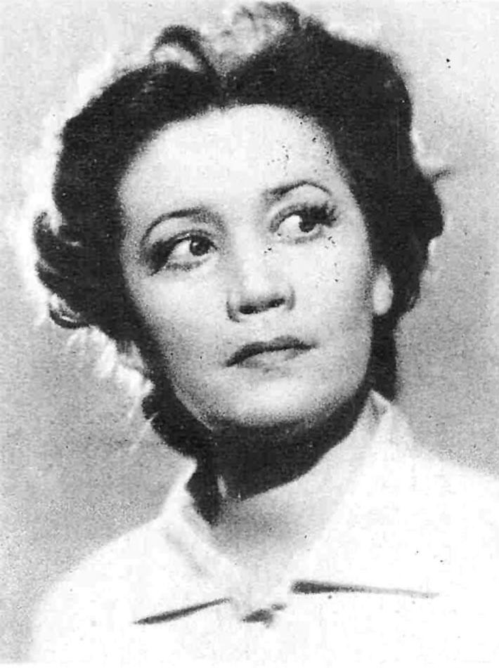 анна горюнова советская актриса мхата фото это