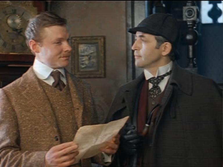 шерлок холмс и доктор ватсон ссср знакомство