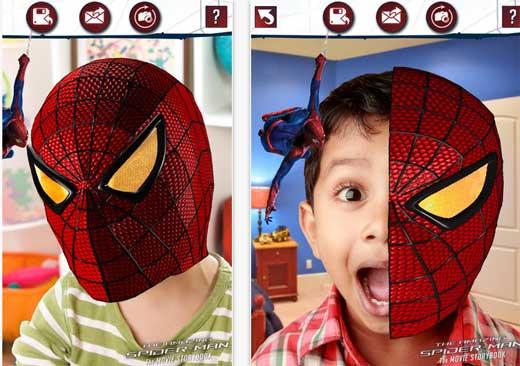 Как сделать маску новый человек паук фото 572